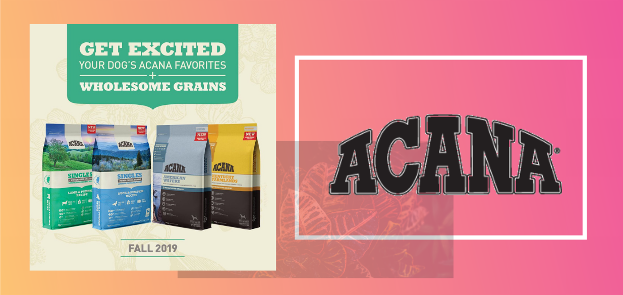 ACANA Wholesome Grains available at Pet Food Etc