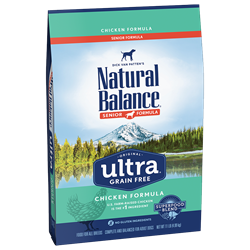 Natural Balance Ultra Chicken Senior Dog Food Natural balance, reduced fat, reduced calorie, Dry, dog food, dog, Ultra, Chicken, Senior