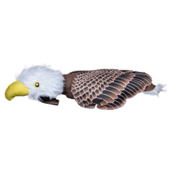Fly & Fetch Eagle American Dog Toys, Fly & Fetch, eagle, fly, fetch, spunky pup