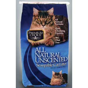 Premium Choice Scoopable Cat Litter 50 lb Cat Tails Cat Litter, Premium Choice Extra Strength Cat Litter, Premium Choice Pine Cat Litter, Premium Choice Scoopable Cat Litter