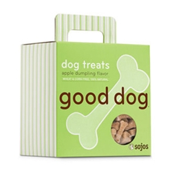 Sojos Apple Dumpling 8 oz Dog Treats sojos, sojos, apple dumpling, dog treats