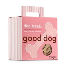 Sojos Peanut Butter/Jelly 8 oz Dog Treats sojos. sojos, peanut butter, jelly, dog treats